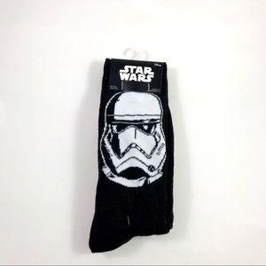 New Disney Star Wars Stormtroopers Crew Socks 6-12